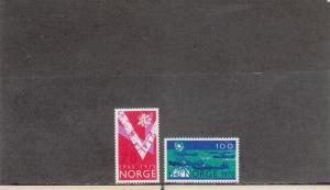NORWAY 555-556 MNH 2019 SCOTT CATALOGUE VALUE $5.00
