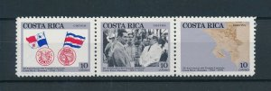 [104403] Costa Rica 1991 Panama border agreement  MNH