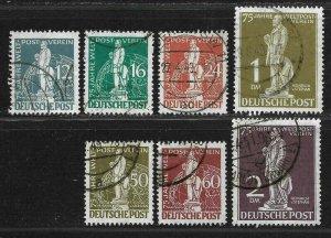 Doyle's_Stamps: Scott #9N35 to #9N41 Used West Berlin