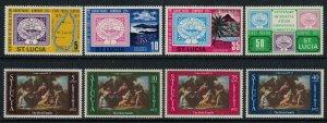 St. Lucia #320-7* NH  CV $3.30