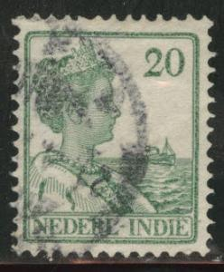 Netherlands Indies  Scott 122 used  from 1912-20 set