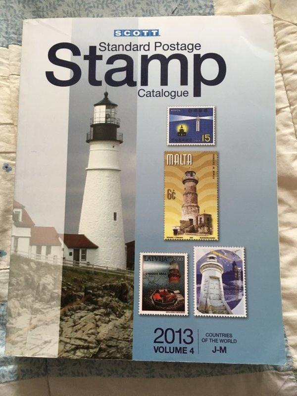 Scott 2013 Standard Postage Stamp Catalogue Vol 4 J - M Countries