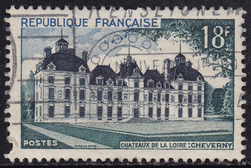 France 723 View of Cheverny Chateau 18F 1954