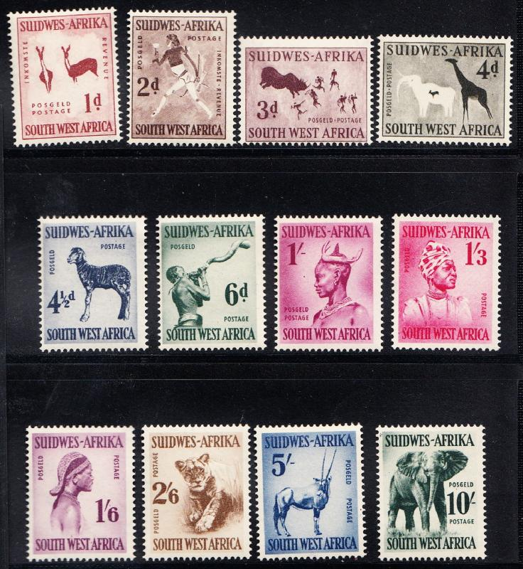 SOUTH WEST AFRICA # 249-260 Mint NH - SG 154-165