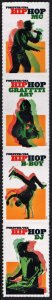 SC#5480-83 (55¢) Hip Hop Strip of Four (2020) SA