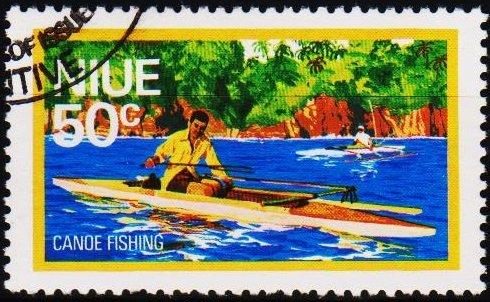 Niue. 1976 50c S.G.205 Fine Used