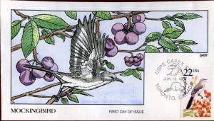 #2330 MICKINGBIRD BY COLLINS FDC CACHET BN5701