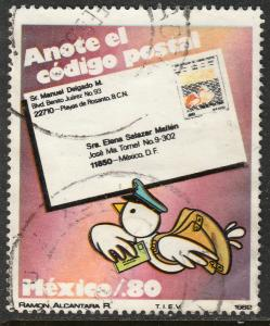 MEXICO 1270, Promotion for the Use of Zip Codes. Used. (956)