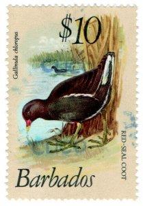 (I.B) Barbados Revenue : Duty Stamp $10