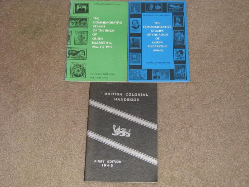 The Comm. Stamps of Queen Elizabeth 1952-59, 1960-65, British Colonial Handbook
