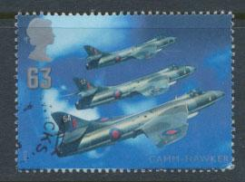 Great Britain SG 1988  poor Used  see detail  - British Aircraft Designers
