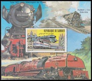 1981 Djibouti 300/B36 Locomotives 7,00 €