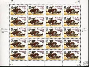 US CHEROKEE STRIP SCOTT#2754 SHEET MINT NH