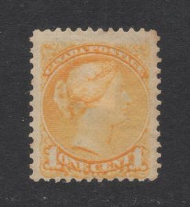 Canada #35 Yellow - 1 Cent - Unused - O.G.