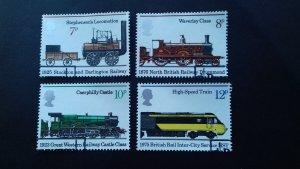 Great Britain 1975 Locomotives Used