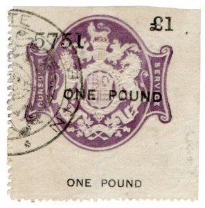 (I.B) QV Revenue : Consular Service £1 (Nice)