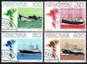 Faroe Islands #24-7  F-VF Used CV $6.15 (X5636)