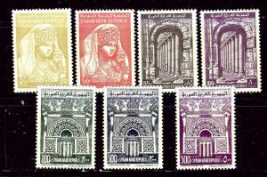 Syria C255-61 MNH 1961-63 set