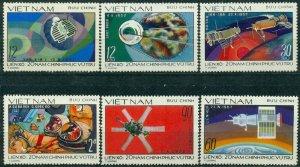 Vietnam 1978 MNH Stamps Scott 955-960 Space Exploration Astronauts