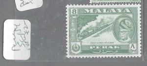 MALAYA PERAK  (P1404BB)  8C TRAIN SG 154    MOG