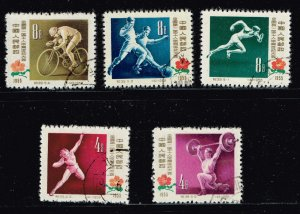 CHINA STAMP USED STAMPS COLLECTION LOT  #1