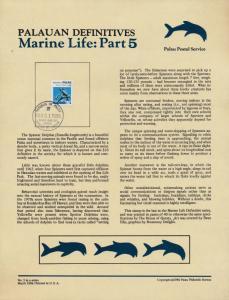 Palau 85 on Souvenir Page - Marine Life, Dolphin