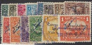 NICARAGUA C92-105 USED SCV $4.25 BIN $1.70 PLACES