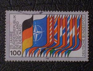 Germany Scott #1322 used