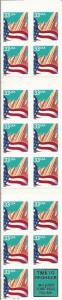 US Stamp - 1999 City Flag - Booklet Pane of 15 Stamps #BK275