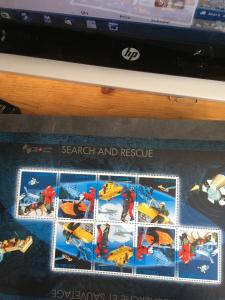 Canada #2111i Mint Horiz, Strip of 4 Search & Rescue Air,Sea,Alpine& With a Dog
