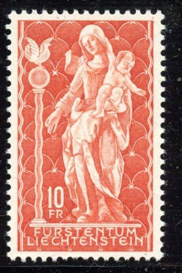 Liechtenstein  # 395, Mint Never Hinge. CV $ 7.00