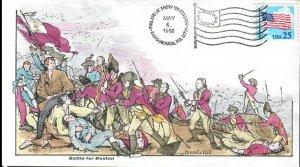 US Collins FDC Sc#2278 Battle For Boston