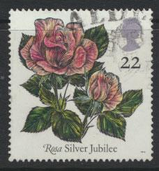 Great Britain SG 1568    Used  - Roses Belfast
