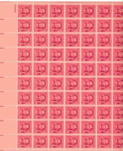 US 860 - 2¢ James Fenimore Cooper Unused