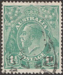 Australia stamp, Scott# 25, , used, hinged, #25