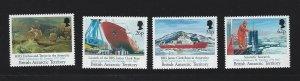 British Antarctic Territory mnh S.C.#  184 - 187