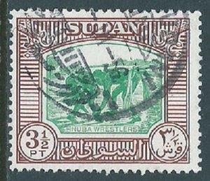 Sudan, Sc #107, 3-1/2pi Used