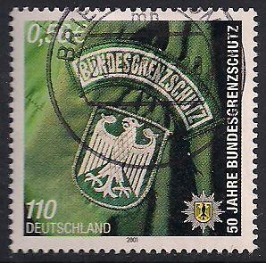 Germany 2119 Used - Border Police