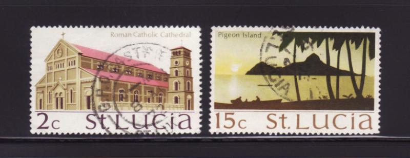 St Lucia 262, 268 U Various (A)