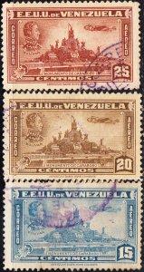 Venezuela  #C136-C141 Used