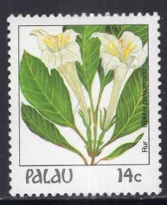 Palau 130 Flower MNH VF