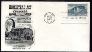 US 1198 Homestead Act Fleetwood U/A FDC
