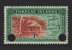 Tokelau Islands Sc#9 MNH - slight crease