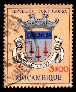 Mozambique 1961 Vila Cabral, Coat of Arms 3e Scott.416 Used (#2)