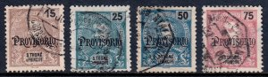 St. Thomas and Prince Islands - Scott #86-89 - Used - Minor faults - SCV $7.50