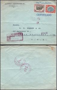 Goldpath: Guatemala cover 1915, to U.S.A.  _CV24_P6