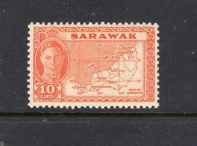 SARAWAK 195 MNH VF KGVI