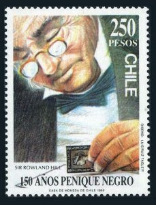 Chile 893,MNH.Michel 1362. Penny Black-150,1990.Sir Rowland Hill.