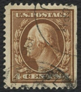 #377 4c Washington, Used [1] **ANY 4=FREE SHIPPING**