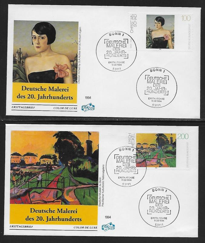 Germany 1863-65 Paintings Unaddressed FDC